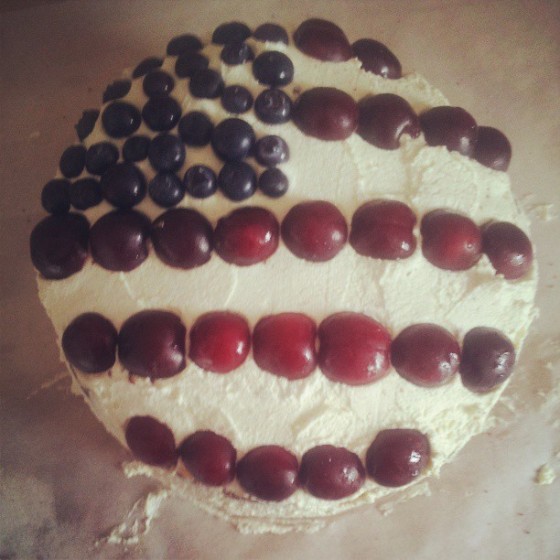July 4th -cake